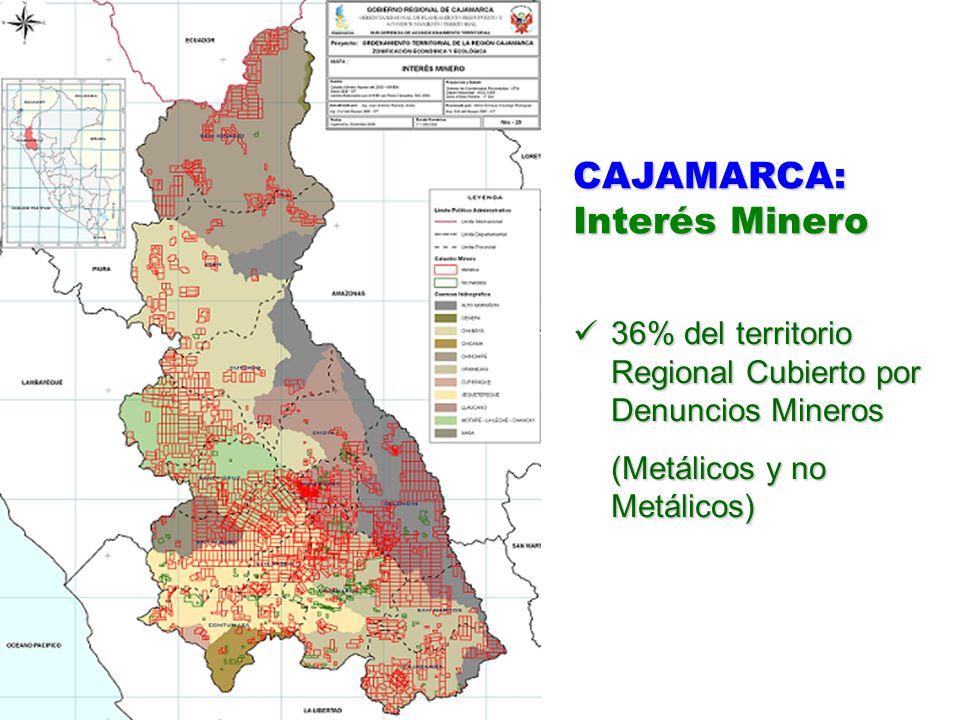 CAJAMARCA: Interés Minero