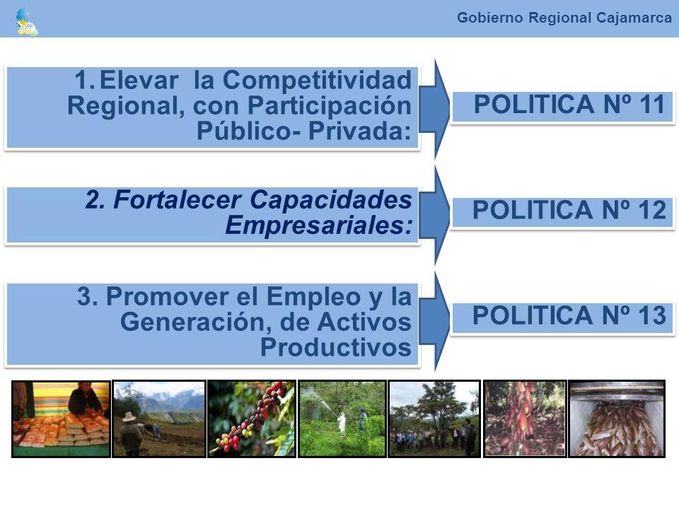 Elevar la Competitividad Regional, con Participación Público- Privada: