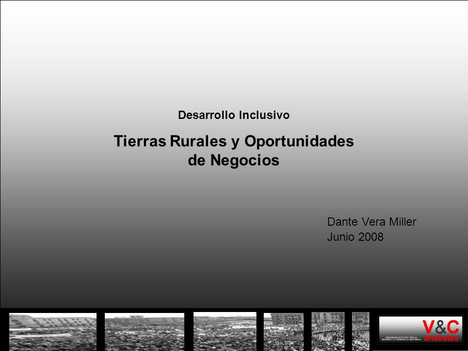 Tierras Rurales y Oportunidades de Negocios