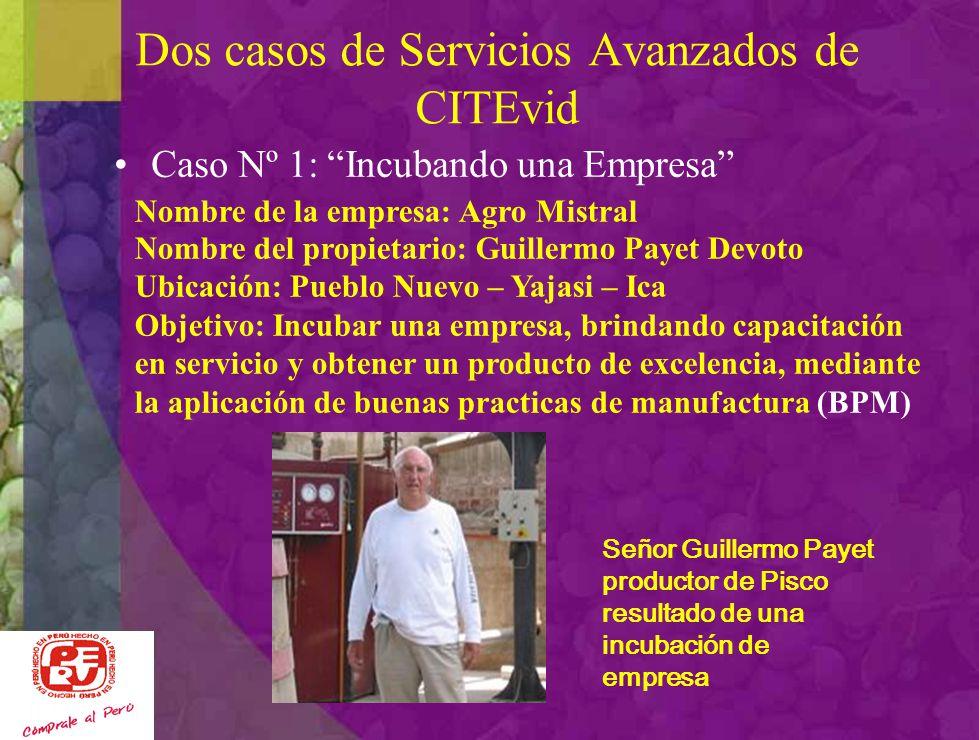 Dos casos de Servicios Avanzados de CITEvid