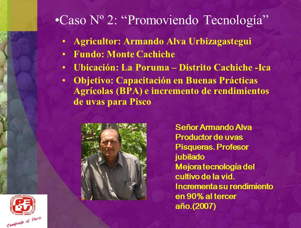 Caso Nº 2: Promoviendo Tecnología