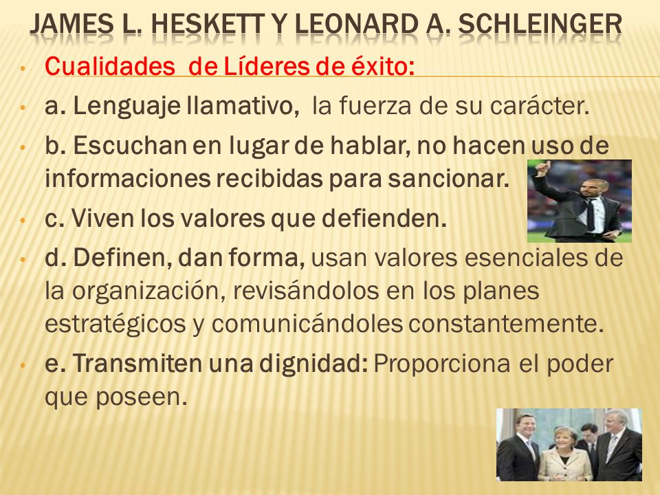 James L. Heskett y Leonard A. Schleinger