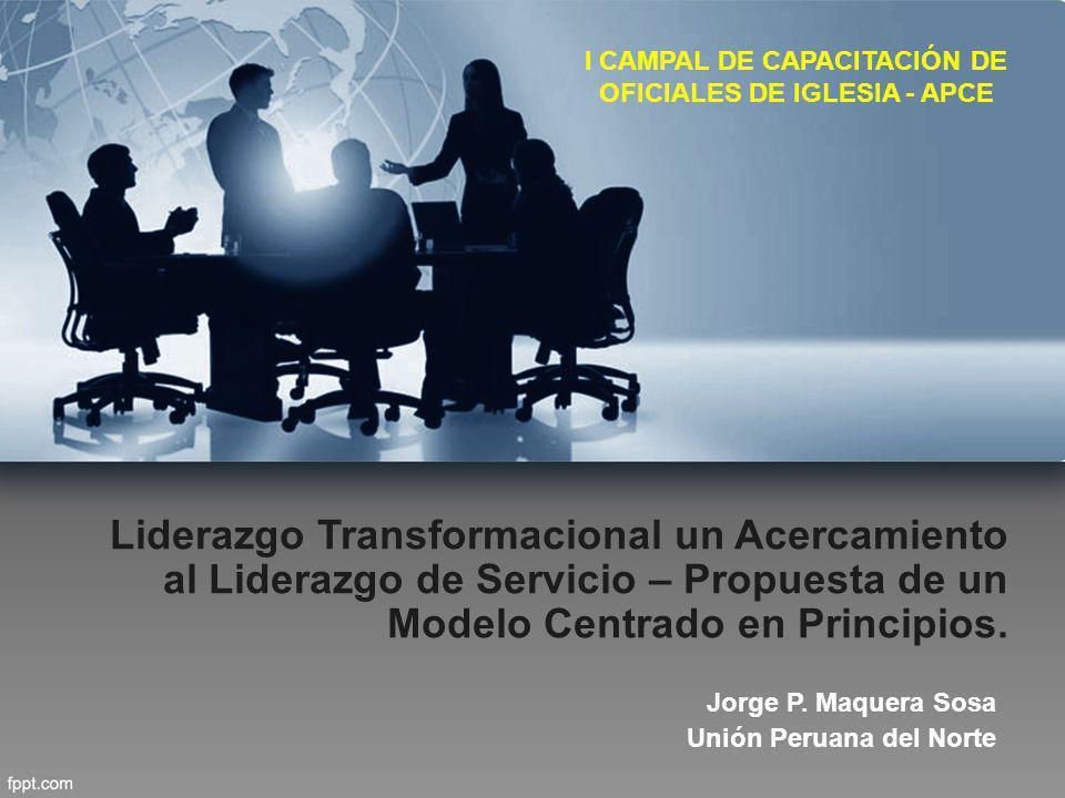 I CAMPAL DE CAPACITACIÓN DE OFICIALES DE IGLESIA - APCE