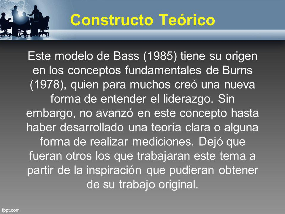 Constructo Teórico