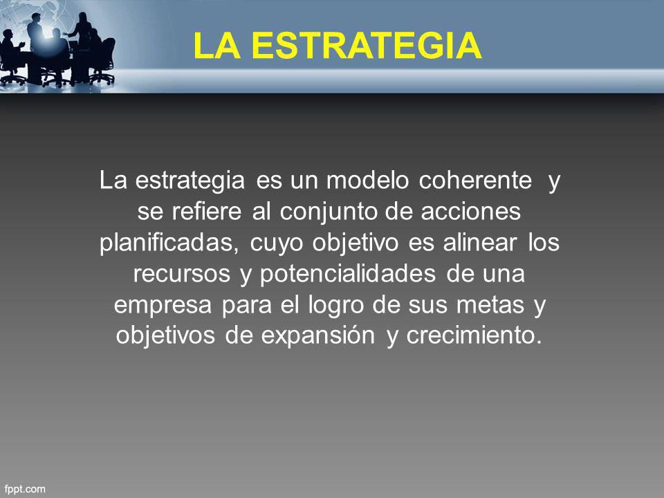LA ESTRATEGIA