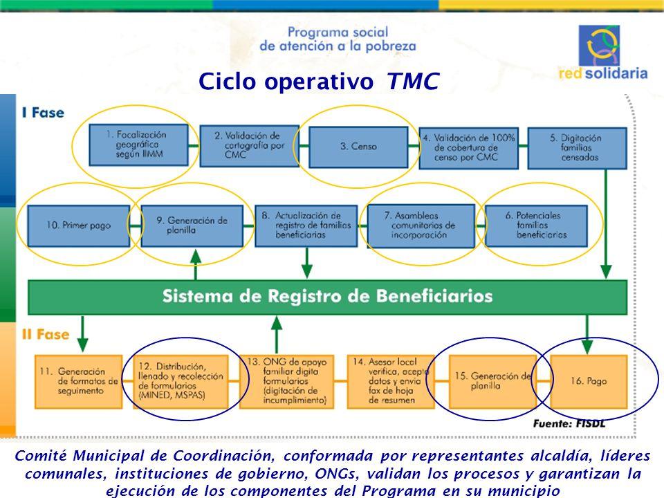 Ciclo operativo TMC