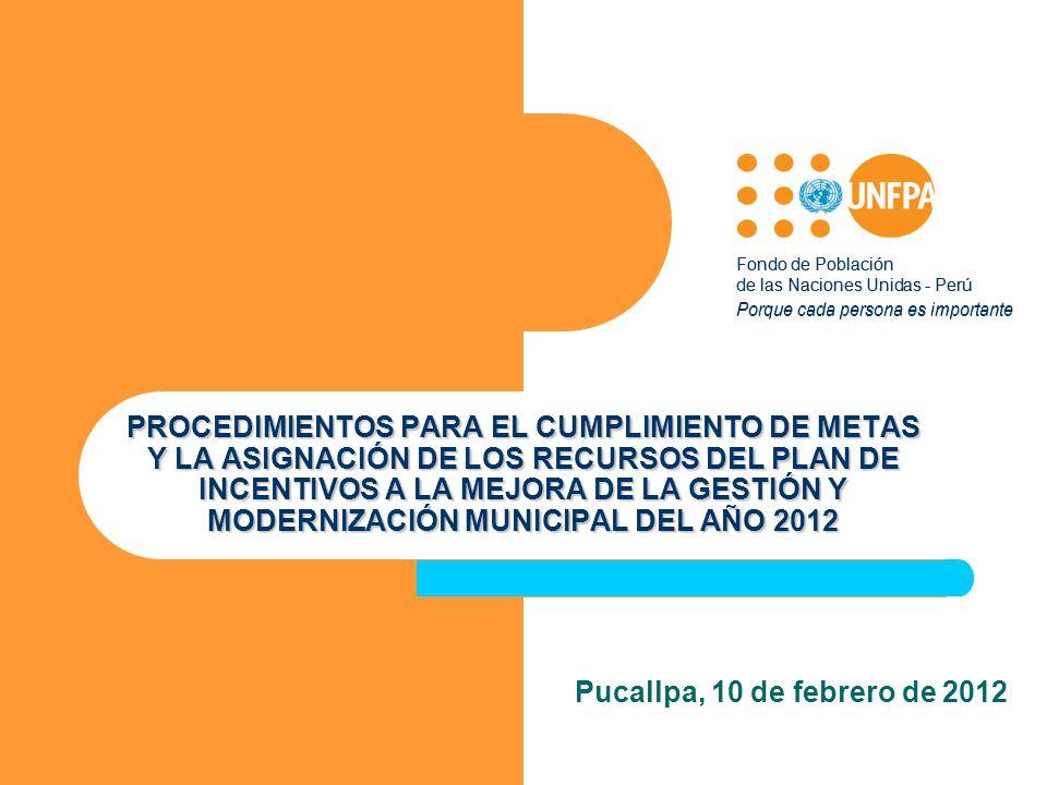 Fondo de Población de las Naciones Unidas - Perú. Porque cada persona es importante.