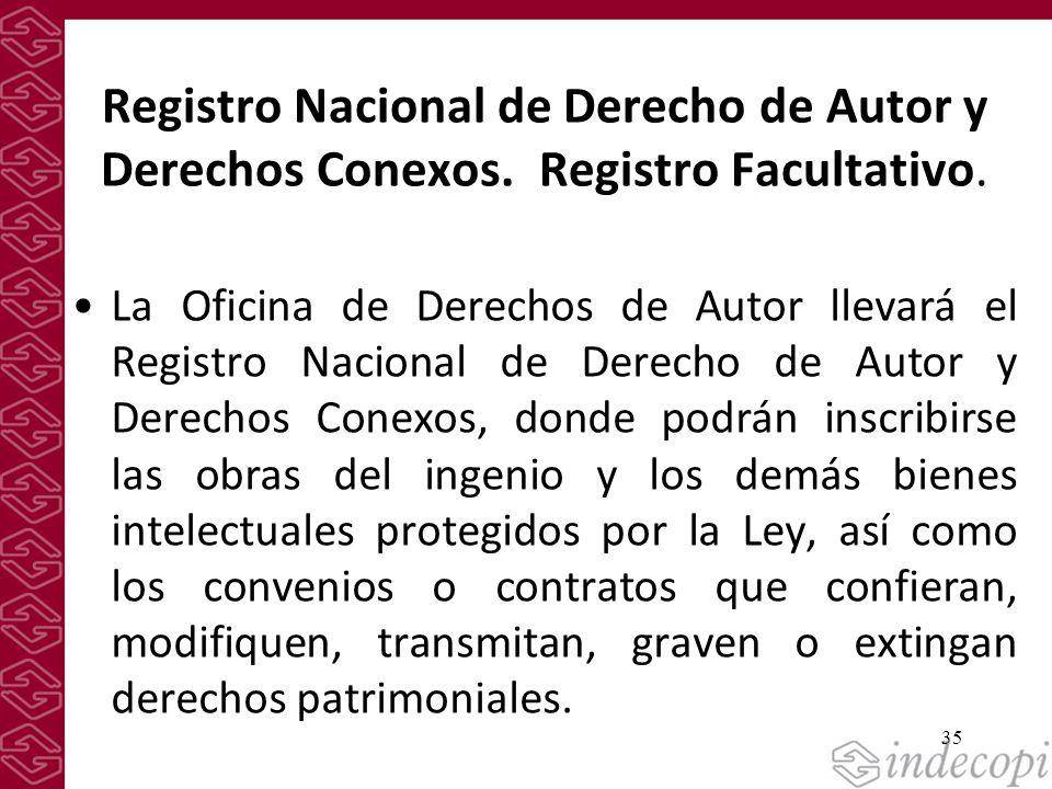 Registro Nacional de Derecho de Autor y Derechos Conexos