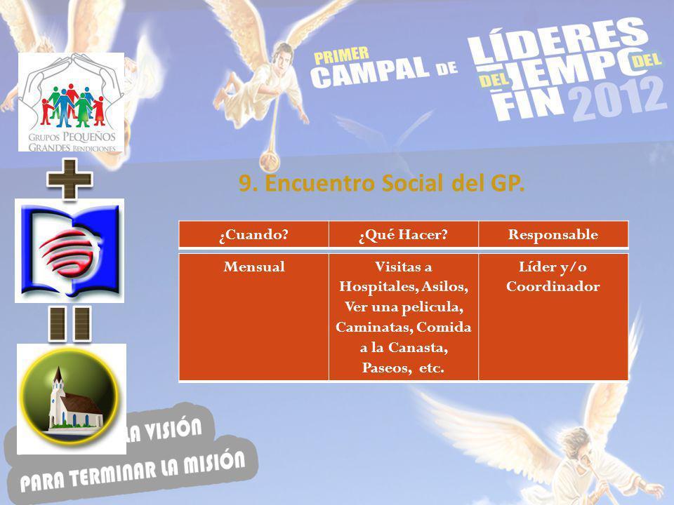 9. Encuentro Social del GP.