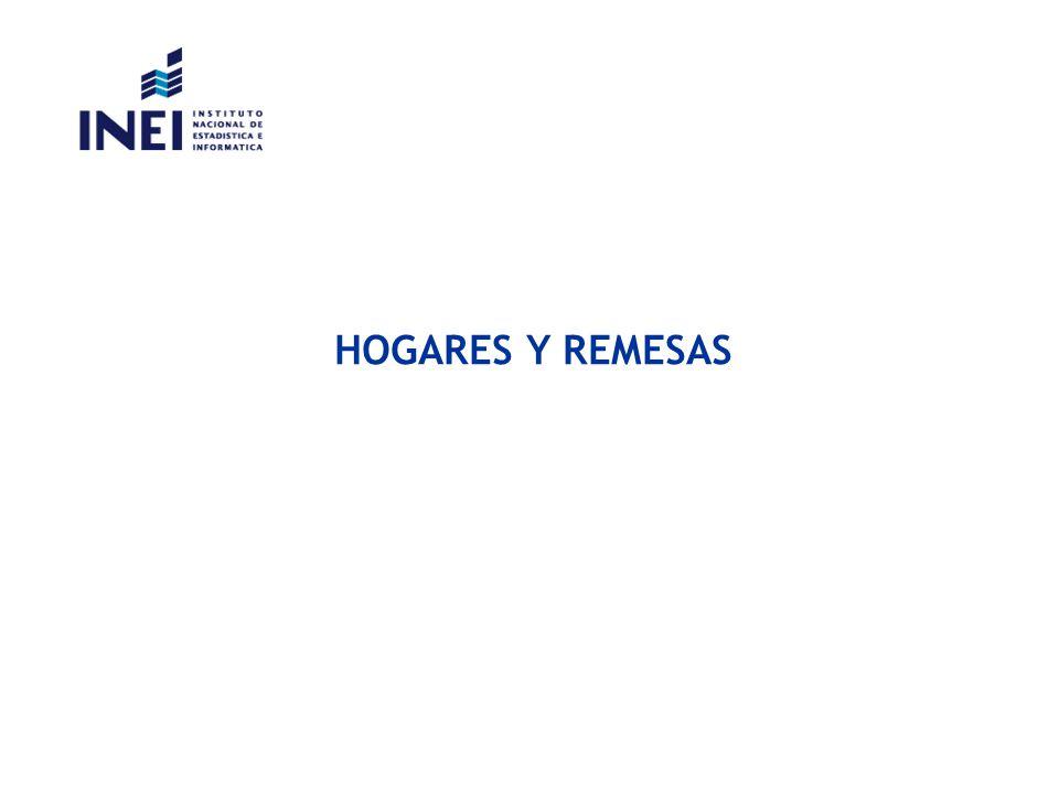 HOGARES Y REMESAS