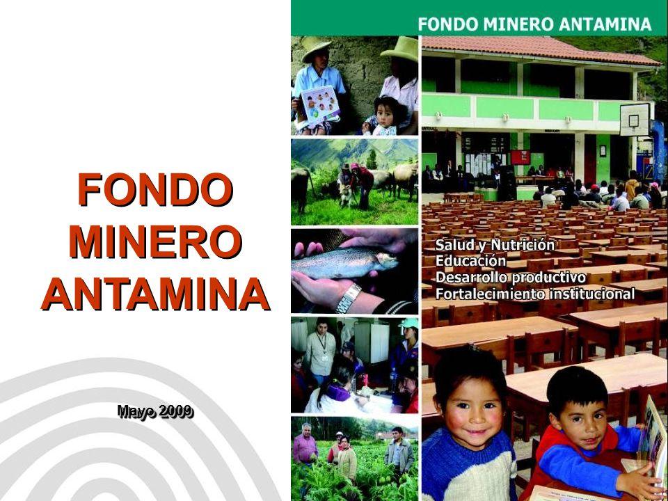 FONDO MINERO ANTAMINA Mayo 2009