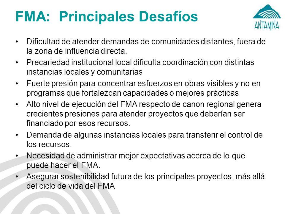 FMA: Principales Desafíos