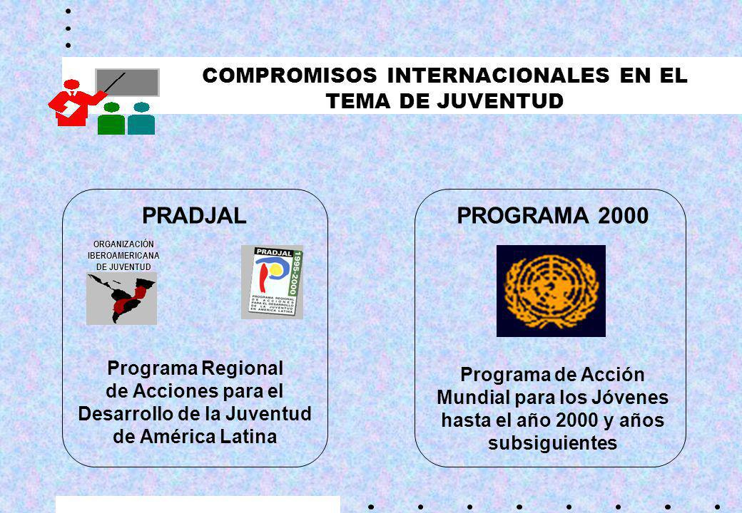 COMPROMISOS INTERNACIONALES EN EL TEMA DE JUVENTUD