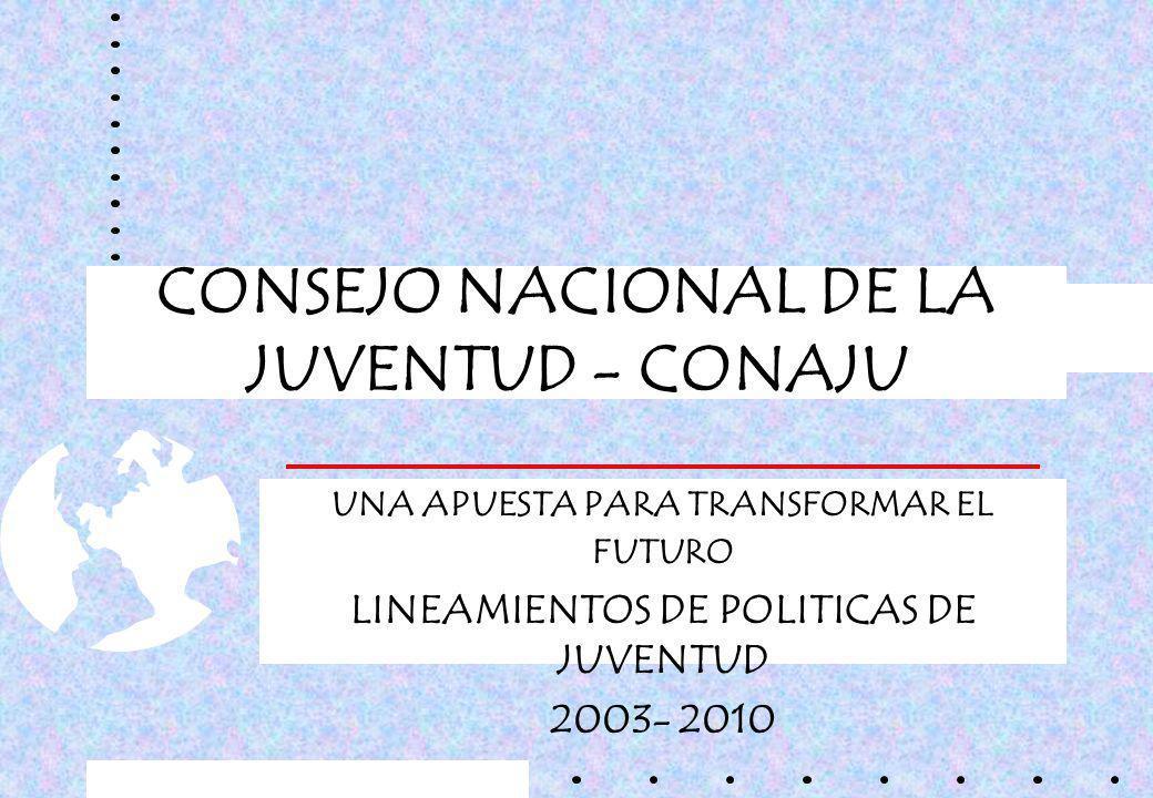 CONSEJO NACIONAL DE LA JUVENTUD - CONAJU