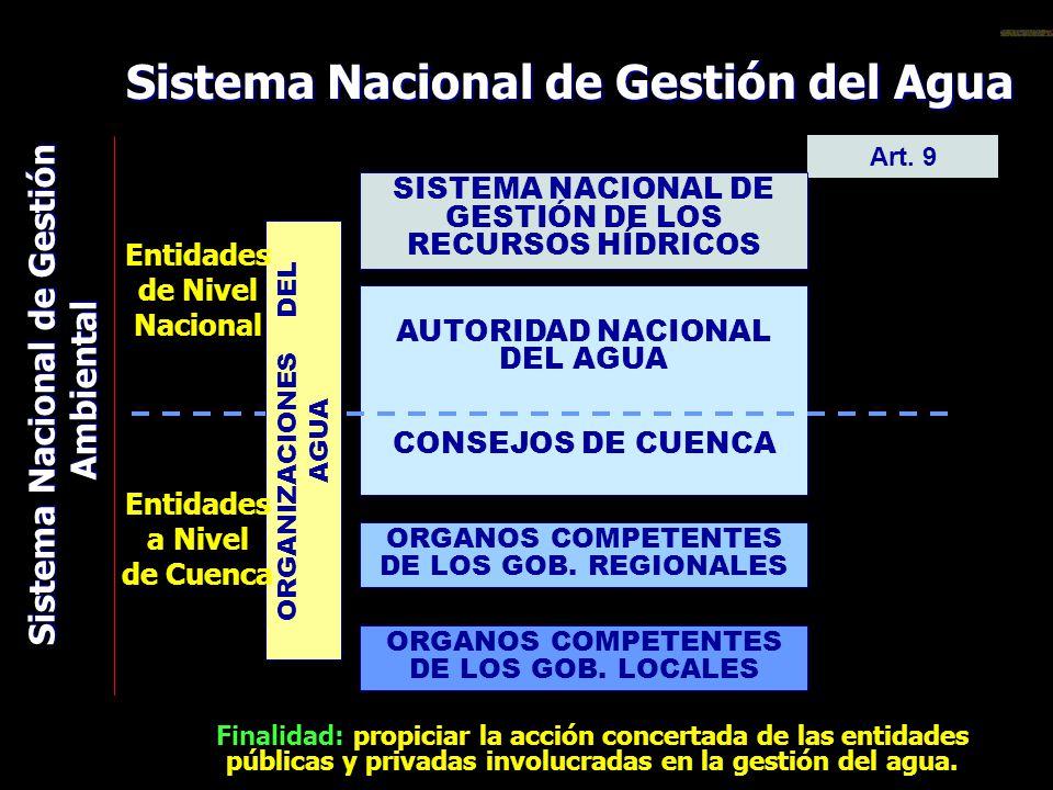 Sistema Nacional de Gestión del Agua