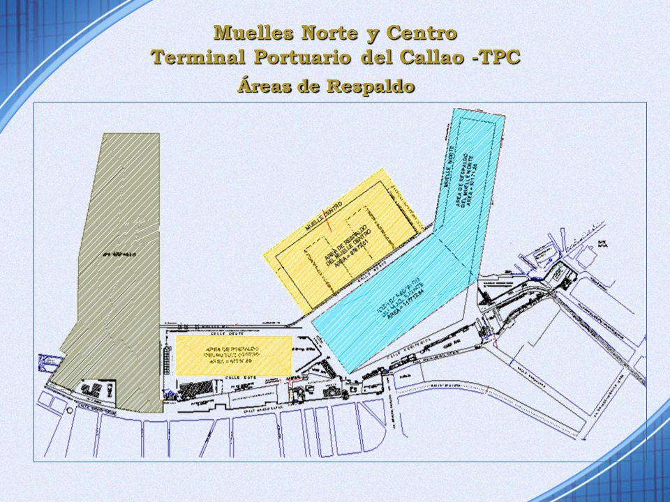 Muelles Norte y Centro Terminal Portuario del Callao -TPC