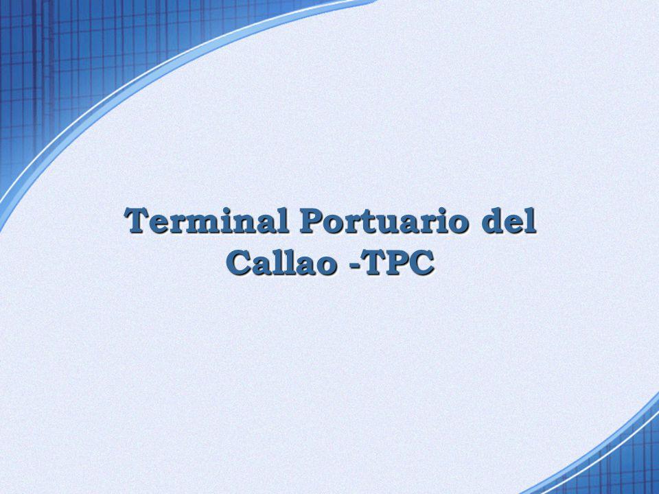 Terminal Portuario del Callao -TPC