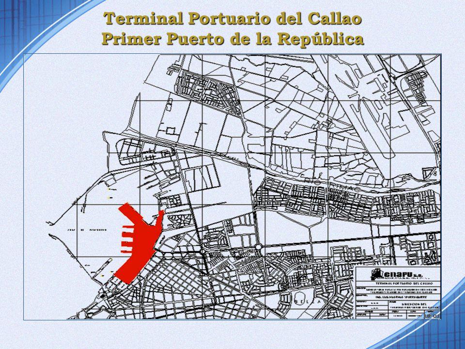 Terminal Portuario del Callao Primer Puerto de la República