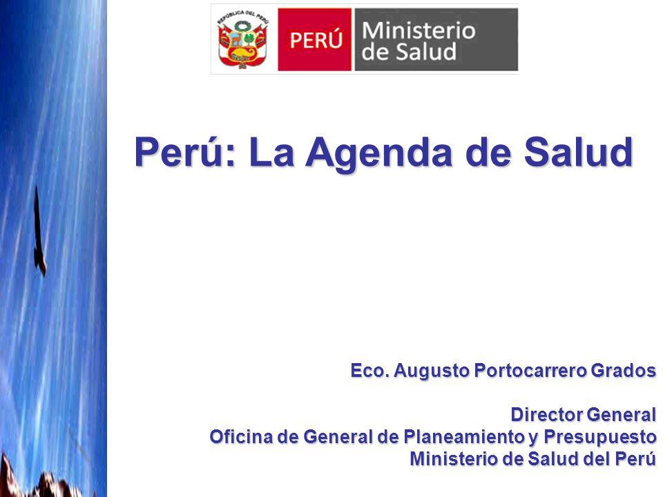 Perú: La Agenda de Salud