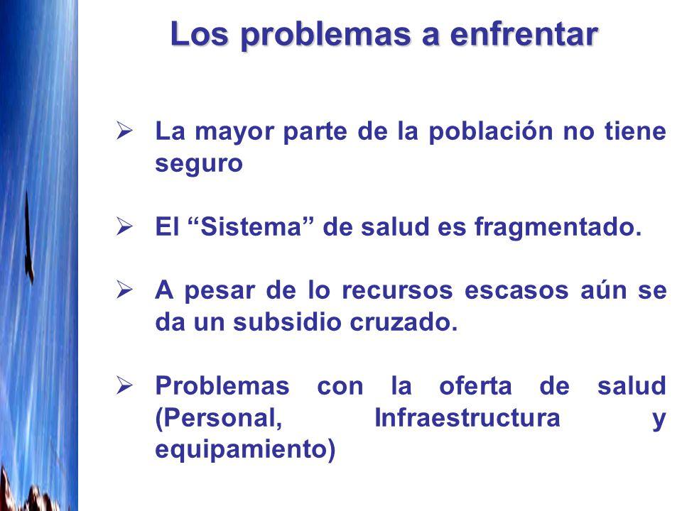 Los problemas a enfrentar