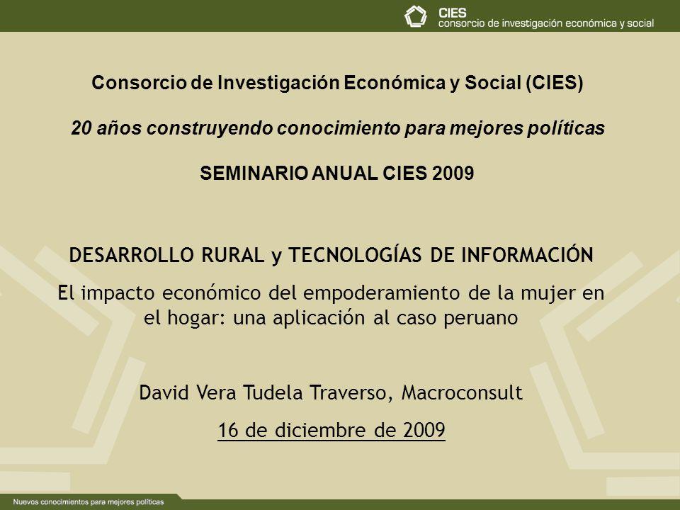 DESARROLLO RURAL y TECNOLOGÍAS DE INFORMACIÓN