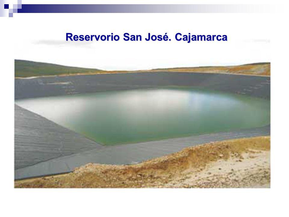 Reservorio San José. Cajamarca