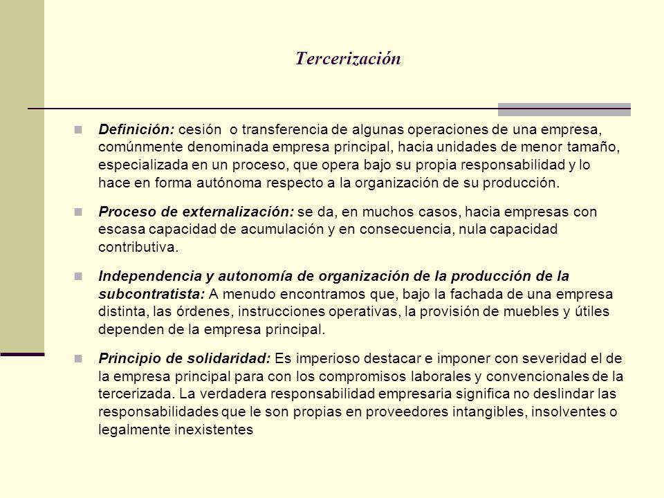 Tercerización