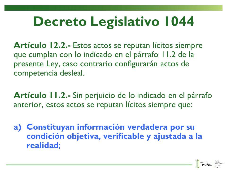 Decreto Legislativo 1044