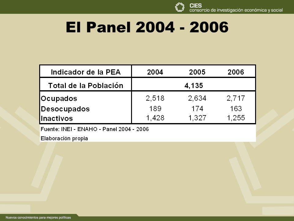 El Panel 2004 - 2006