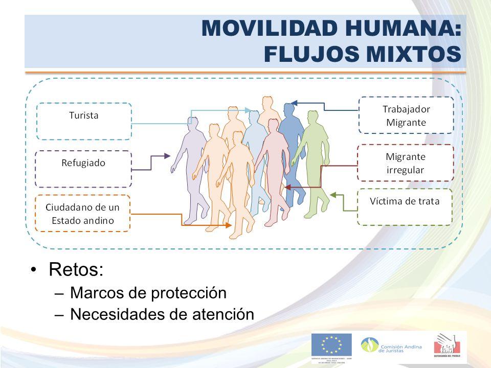 MOVILIDAD HUMANA: FLUJOS MIXTOS