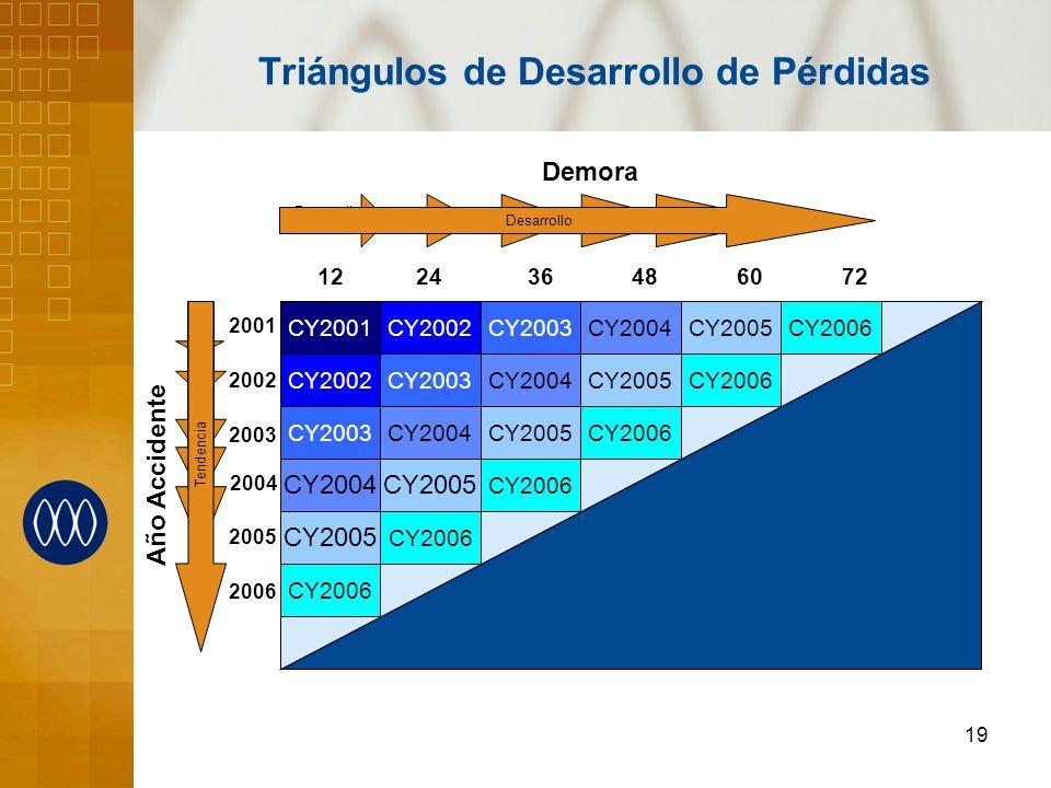 Triángulos de Desarrollo de Pérdidas