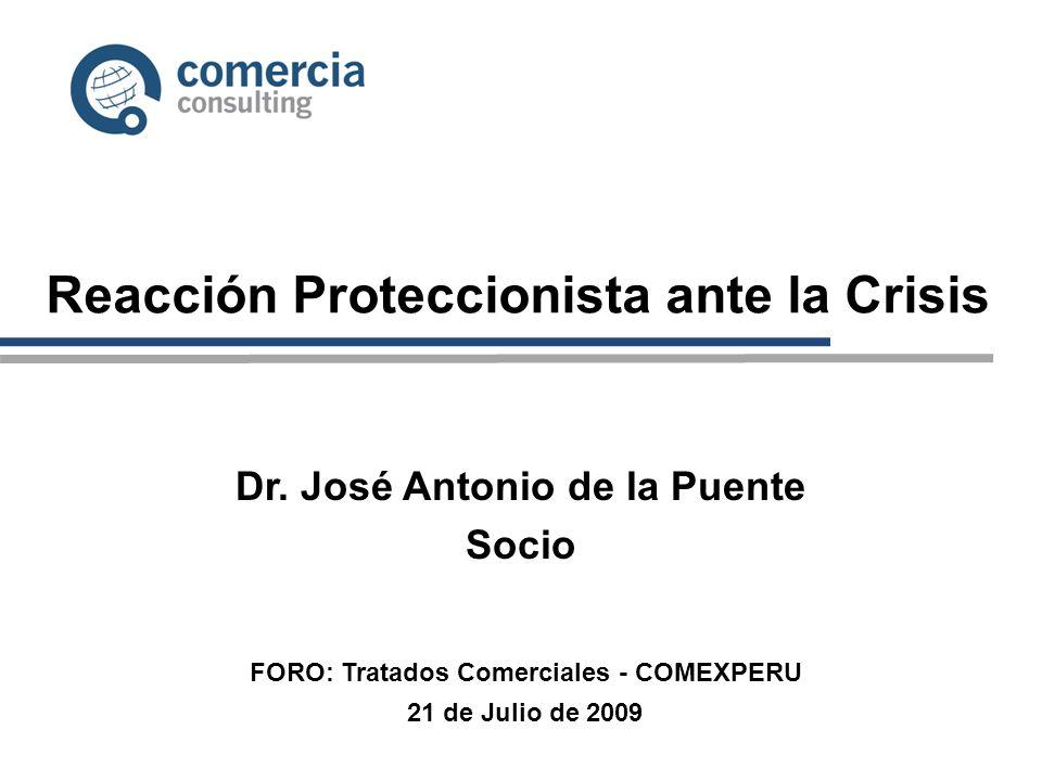 Reacción Proteccionista ante la Crisis