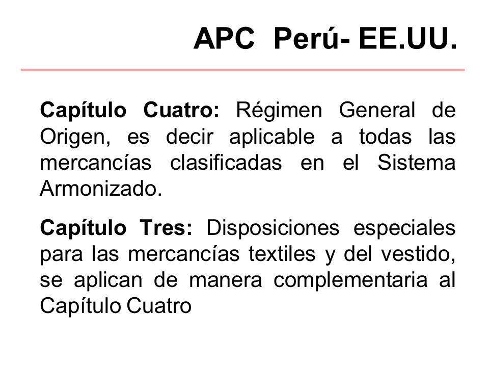 APC Perú- EE.UU.