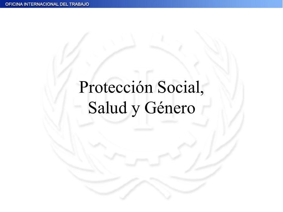 Protección Social, Salud y Género