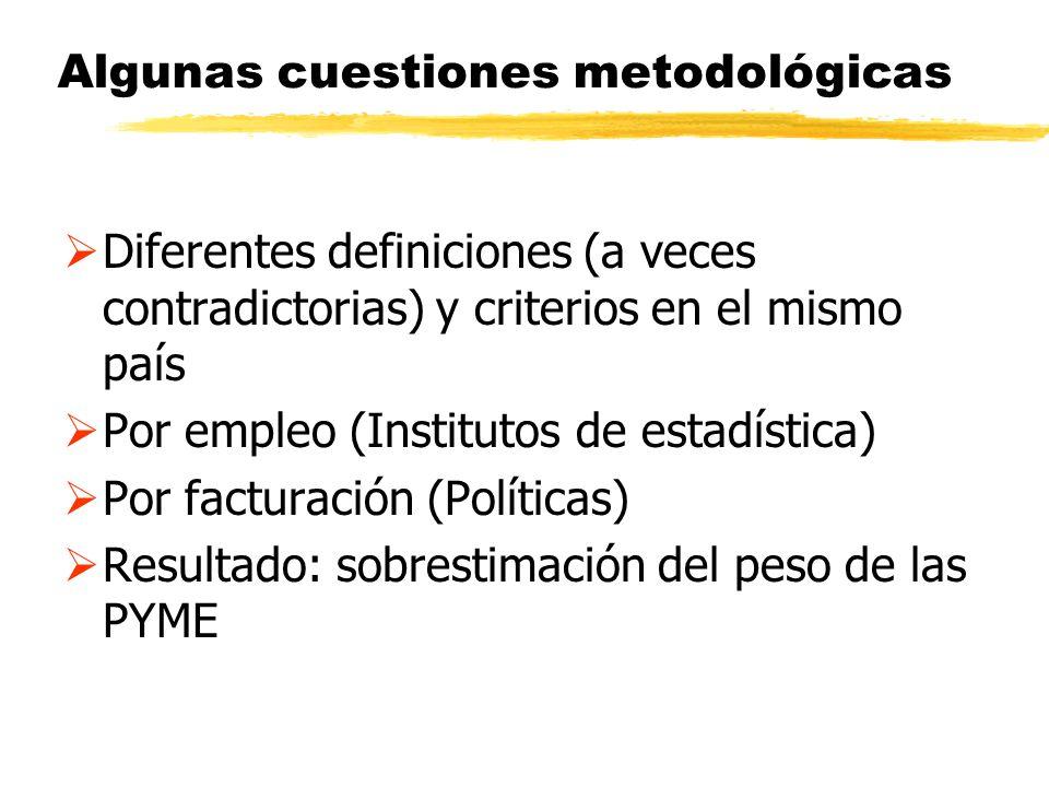 Algunas cuestiones metodológicas