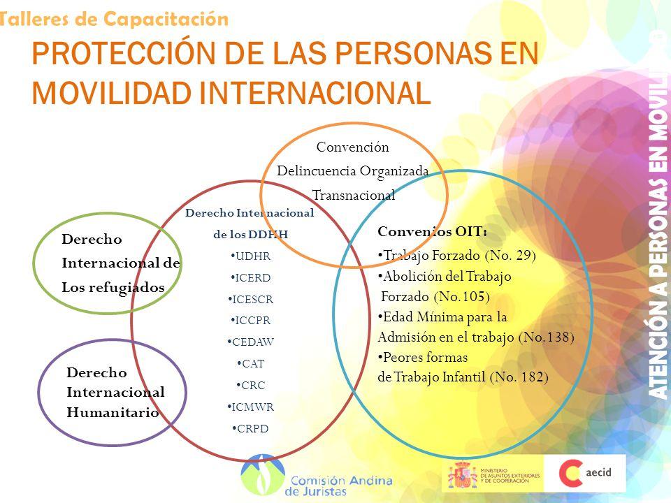 PROTECCIÓN DE LAS PERSONAS EN MOVILIDAD INTERNACIONAL
