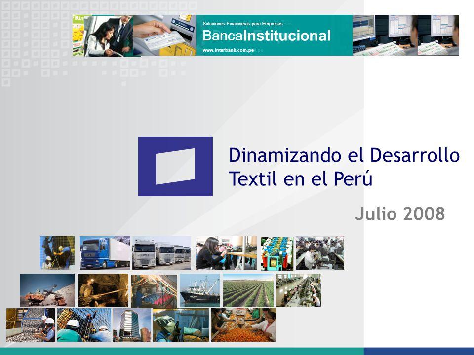 Dinamizando el Desarrollo Textil en el Perú