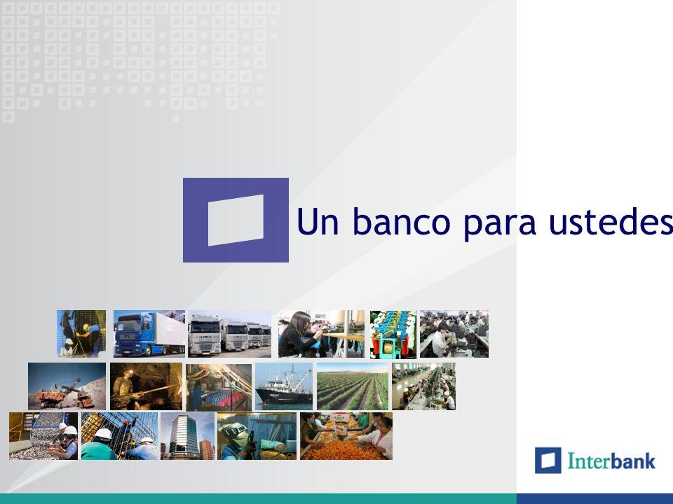 Un banco para ustedes