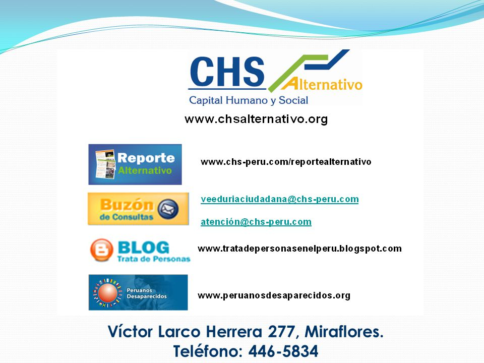 Víctor Larco Herrera 277, Miraflores.
