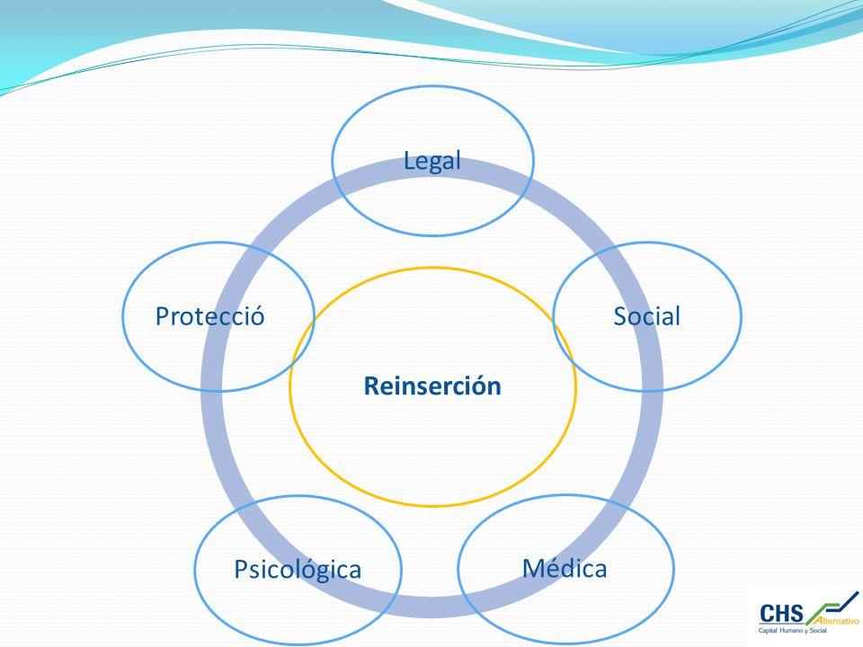 Reinserción Legal Social Médica Psicológica Protección