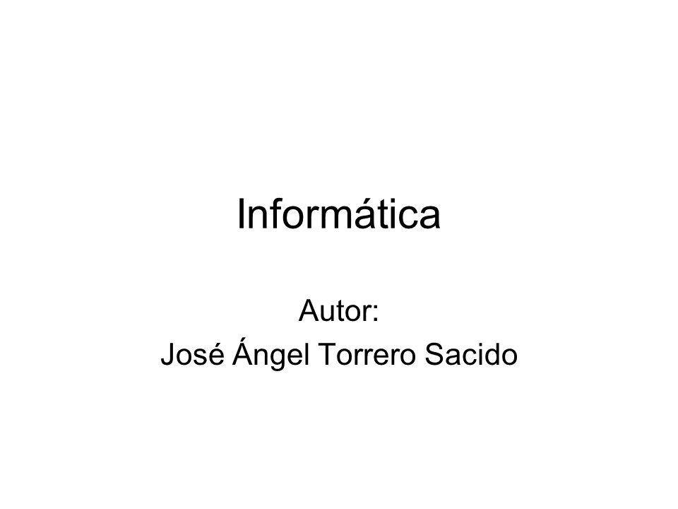 Autor: José Ángel Torrero Sacido