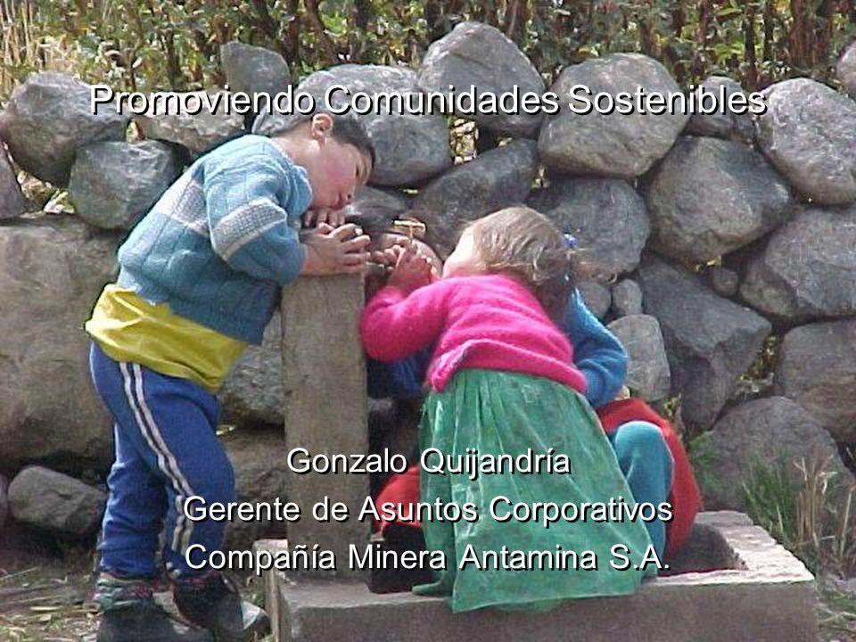 Promoviendo Comunidades Sostenibles