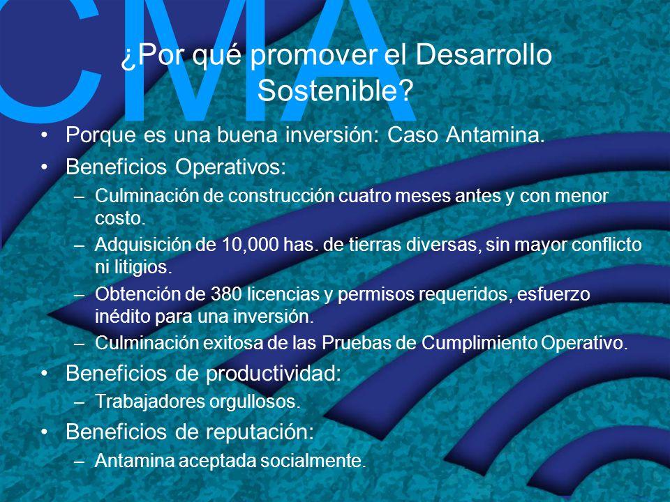 ¿Por qué promover el Desarrollo Sostenible