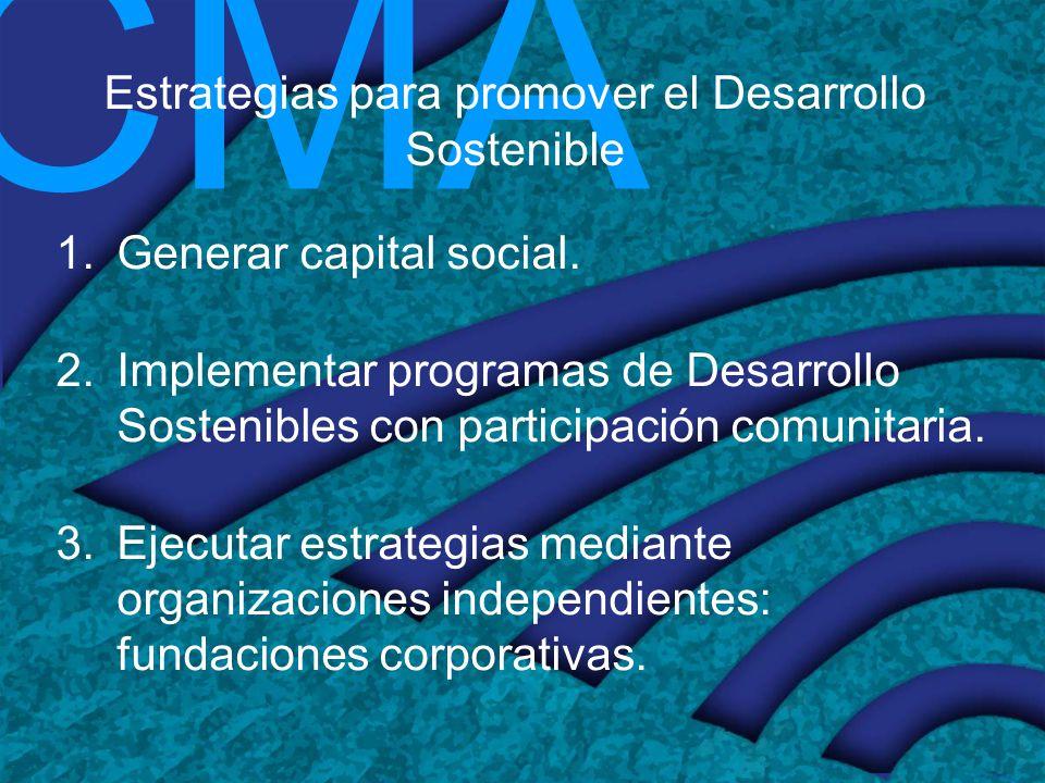 Estrategias para promover el Desarrollo Sostenible
