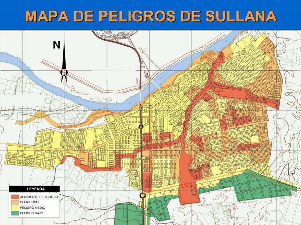 MAPA DE PELIGROS DE SULLANA