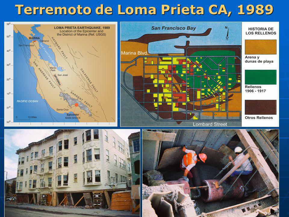 Terremoto de Loma Prieta CA, 1989