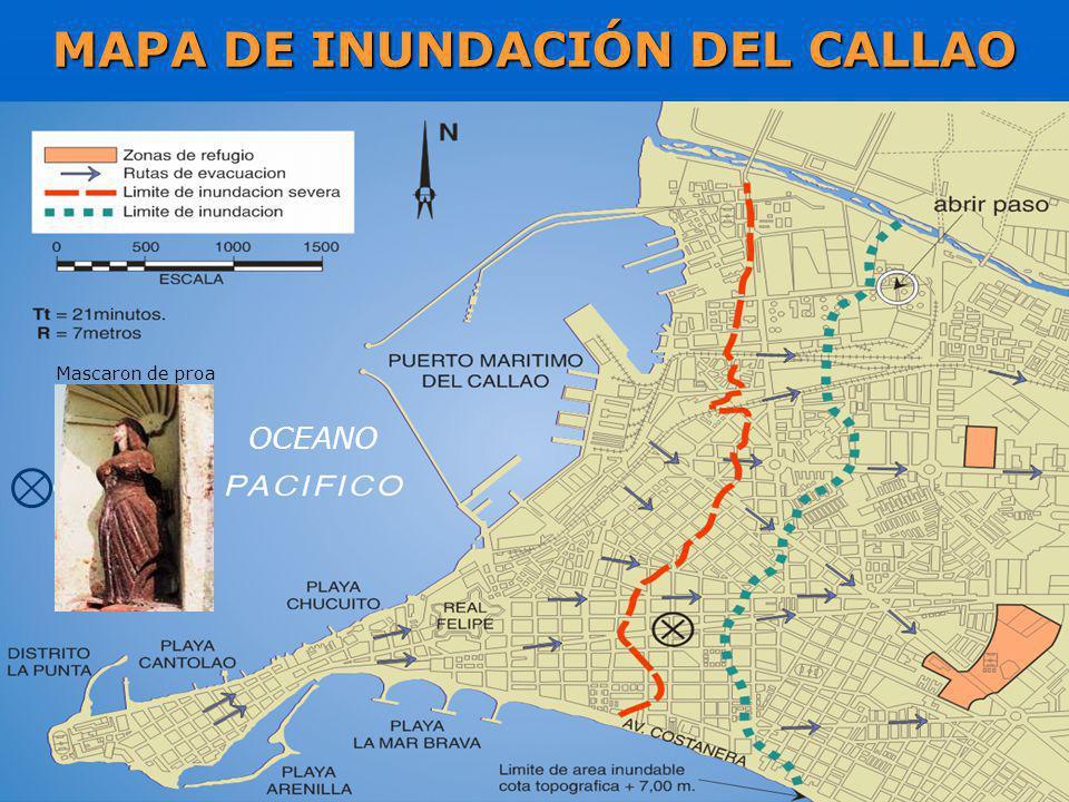 MAPA DE INUNDACIÓN DEL CALLAO
