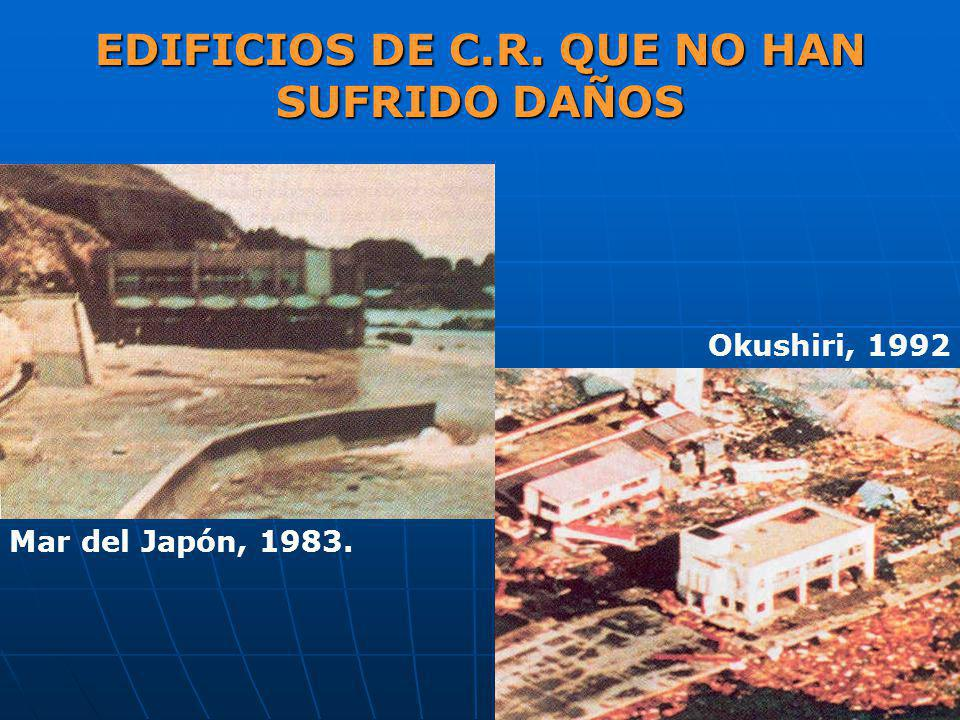 EDIFICIOS DE C.R. QUE NO HAN SUFRIDO DAÑOS