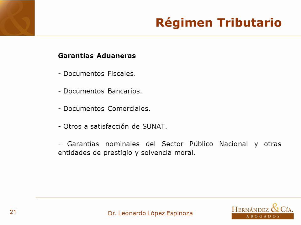 Dr. Leonardo López Espinoza