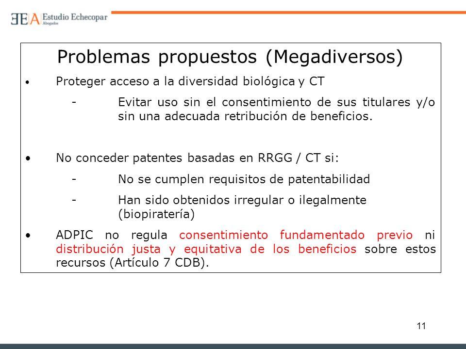 Problemas propuestos (Megadiversos)